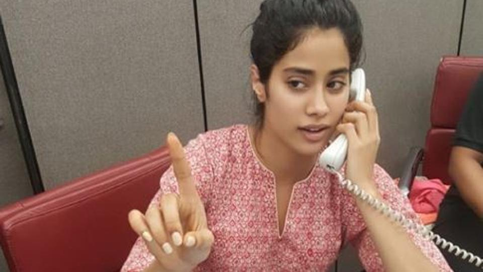 Janhvi Kapoor is the pretty new receptionist at Katrina Kaif's gym. See pic