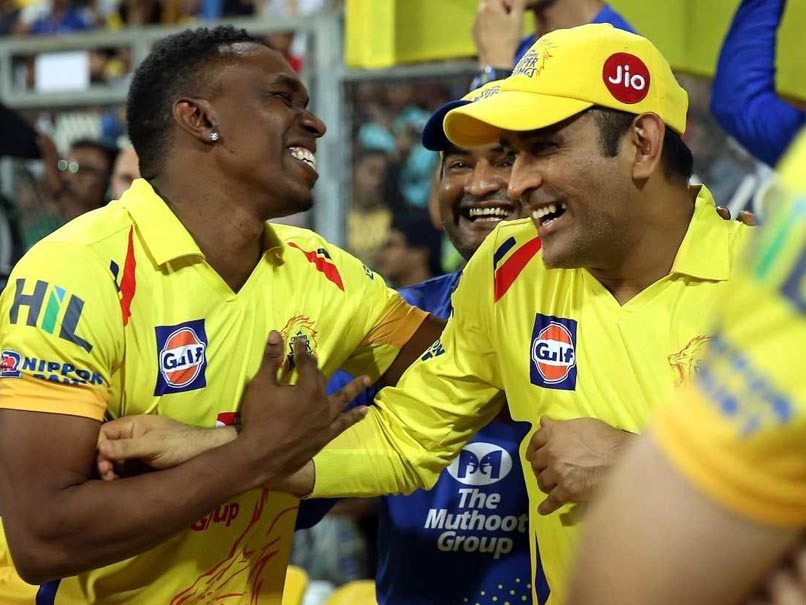 IPL 2018 Final, CSK vs SRH: MS Dhoni Takes On Dwayne Bravo In A Three-Run Dash
