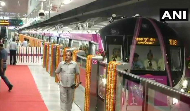 Magenta Line Inaugurated, To Cut Down Noida-Gurgaon Travel Time