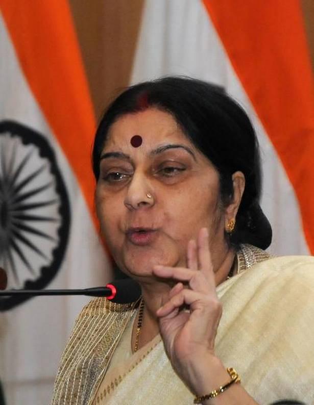 Nepal hurt, Sushma says sorry