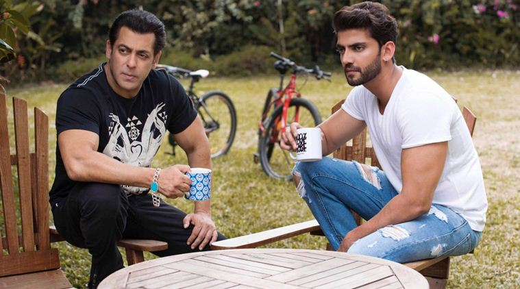 Salman Khan introduces Zaheer Iqbal in Bollywood, says he is a born actor