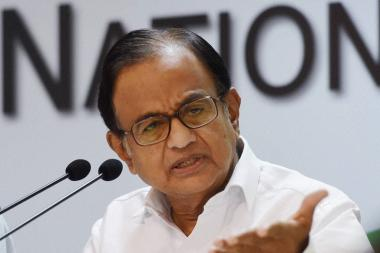 Indian Economy Like a Car With 3 of its Tyres Punctured, Says Chidambaram