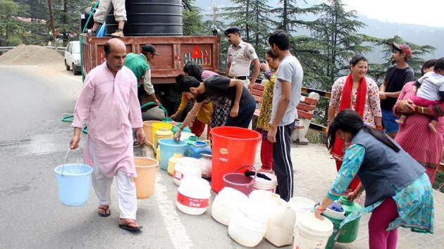 Like Shimla, threat of water crisis looms over many hill stations, metro cities