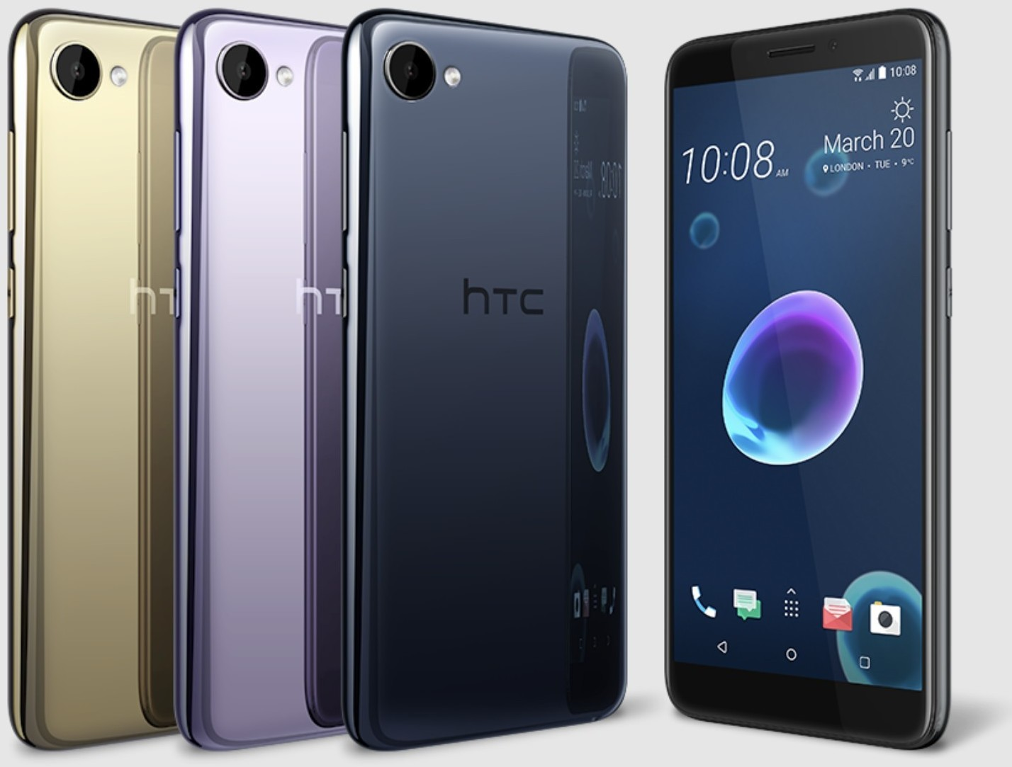 HTC Desire 12, Desire 12+ smartphones launched in India, prices start at Rs 15,800