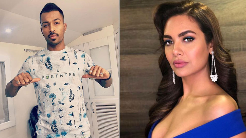 Is Hardik Pandya dating Esha Gupta?