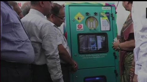 Indian Railways installs plastic bottle crushers at Vadodara station, gives Rs 5 as cashback on e-wallet
