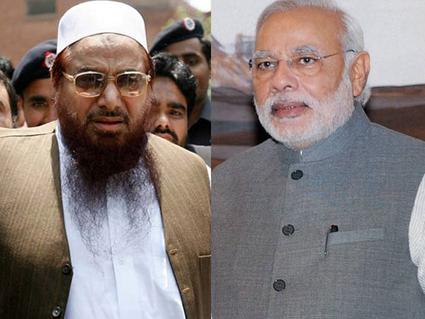 PM Modi will be killed, India will disintegrate: Hafiz Saeed