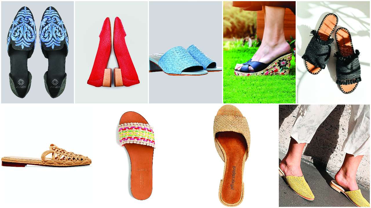 Raffia's redux: The eco-friendly footwear is enjoying the spotlight like never before