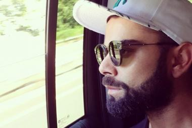 Virat Kohli Gets His Beard