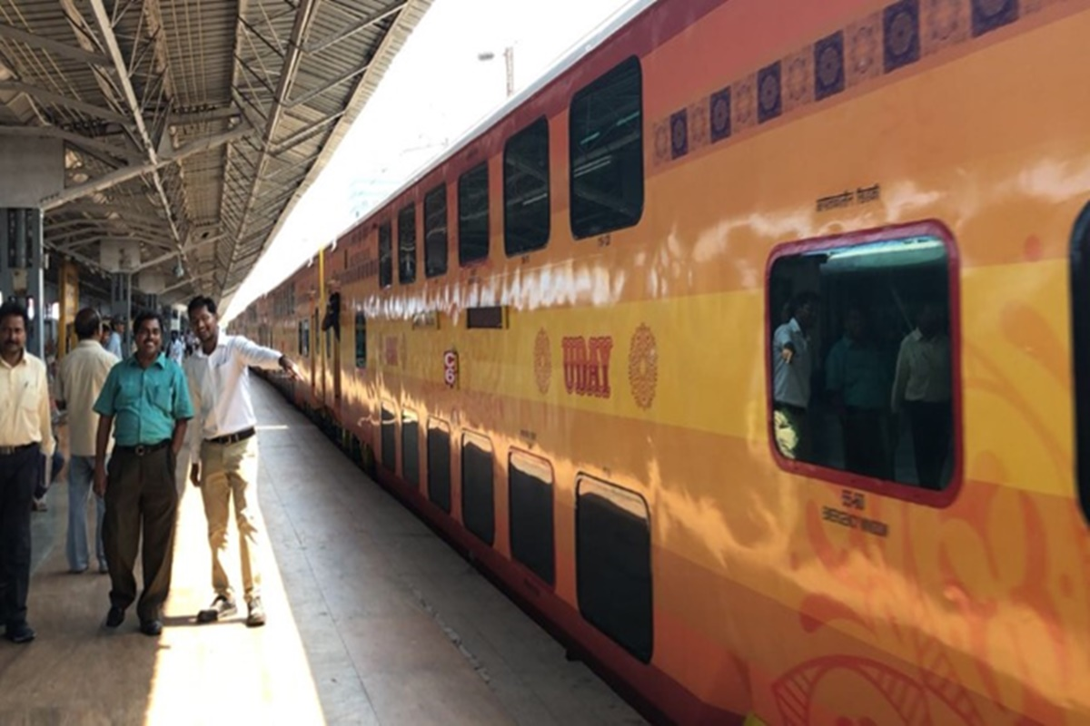 UDAY Express double-decker Coimbatore-Bengaluru train starts today! Check schedule, fare, other details here