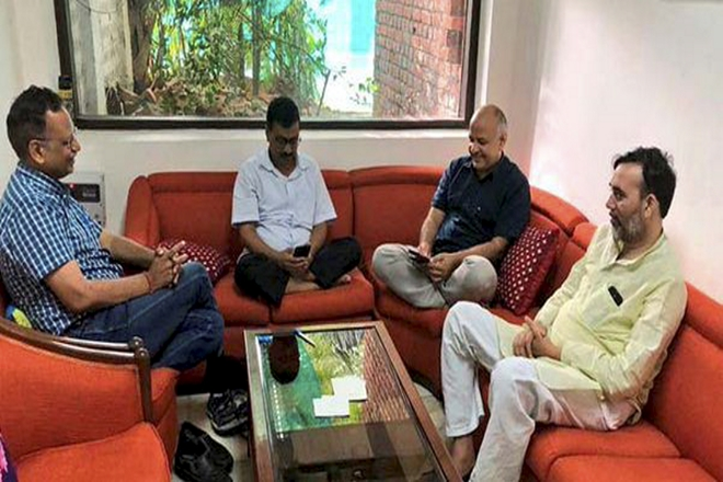 Arvind Kejriwal sit-in enters day 8: Delhi CM relents, urges IAS officers to end 'strike'. Top Developments
