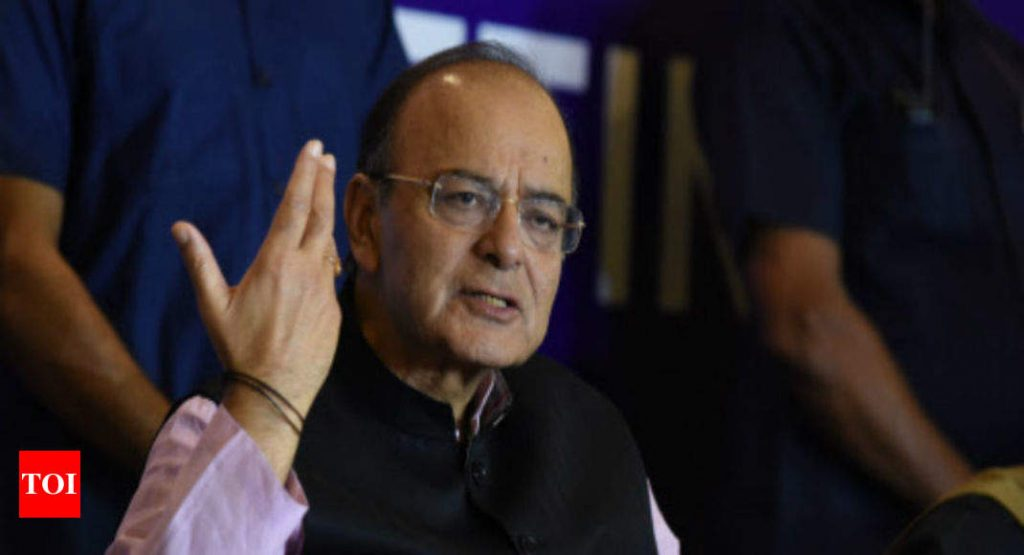 Arun Jaitley's answer to 'where are the jobs?'
