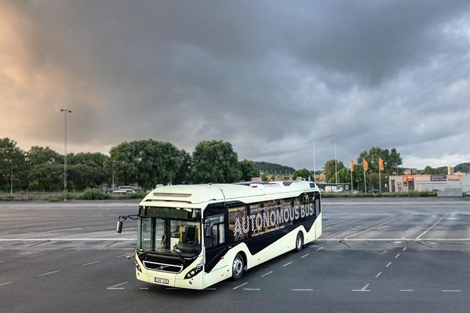 Volvo's latest creation: A 12-metre electric bus without a driver