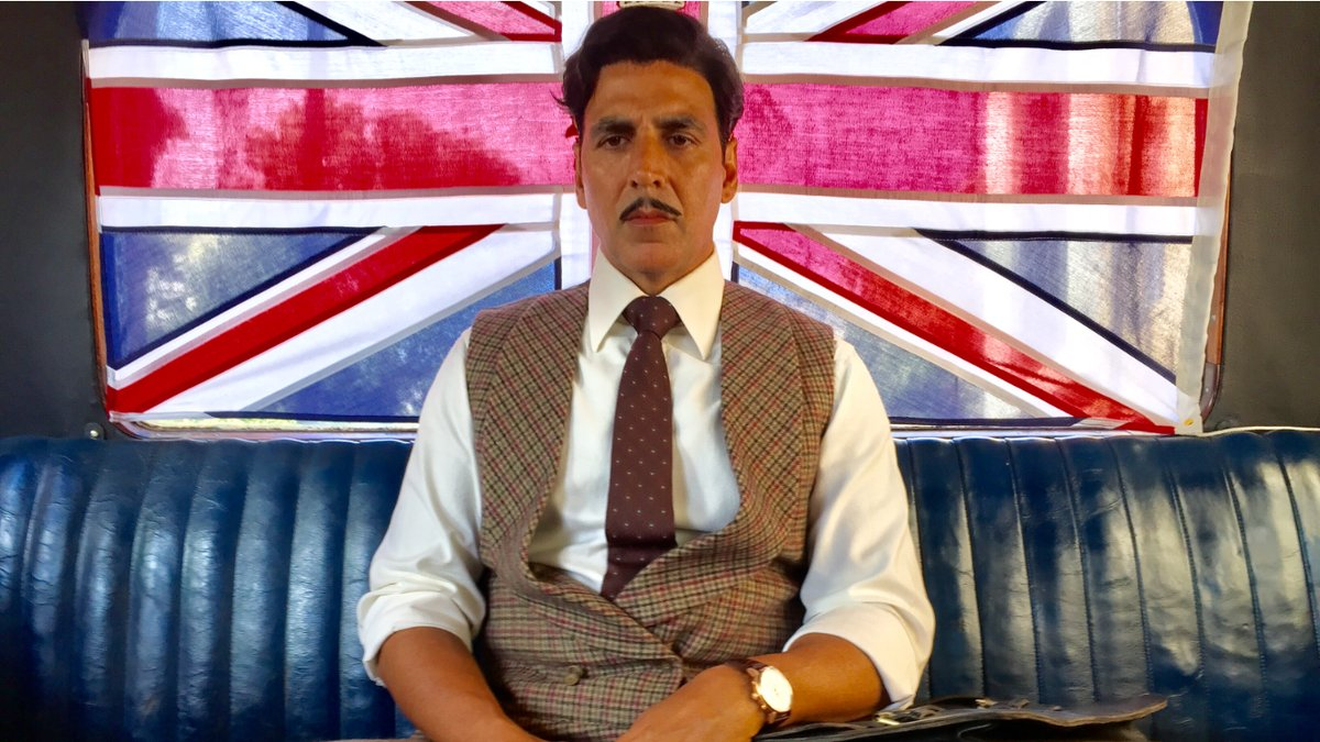 Akshay Kumar realises what it means to be a slave in new Gold still. See pi