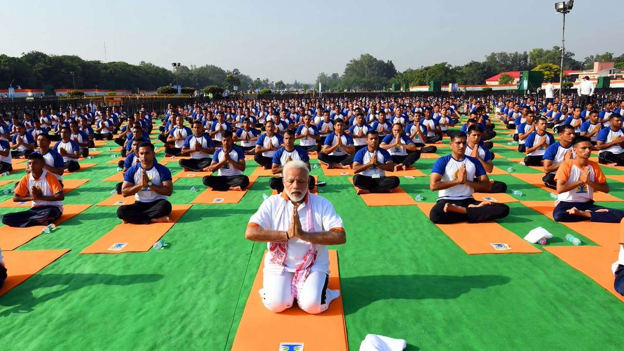 Yoga is the most powerful unifying force in a strife-torn world: PM Modi on International Yoga Day