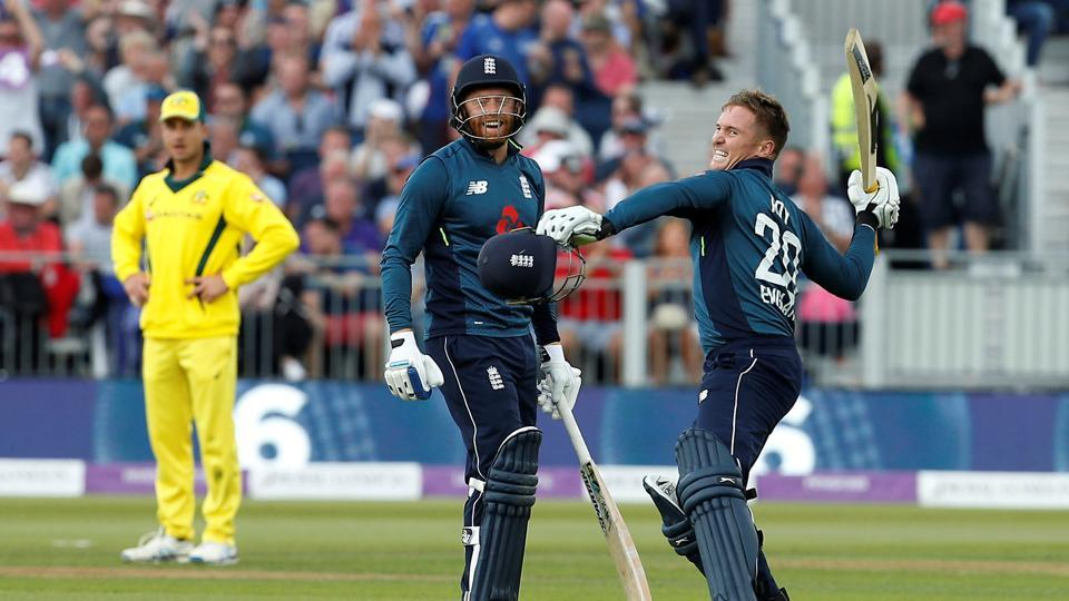 Jason Roy ton propels England to 4-0 lead in series with six-wicket win