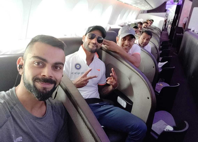 India Tour Of UK: Team India Shares Departure Pictures Ahead Of The Gruelling Tour