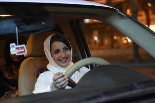 As Saudi Ends Ban, Riyadh Erupts In Midnight Cheers For A Woman In A Car