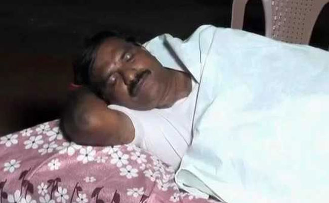 Andhra Lawmaker Spends Nights At Crematorium To Prove A Point