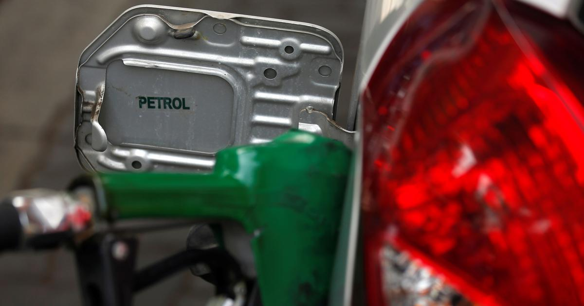 Petrol prices cut for sixth straight day