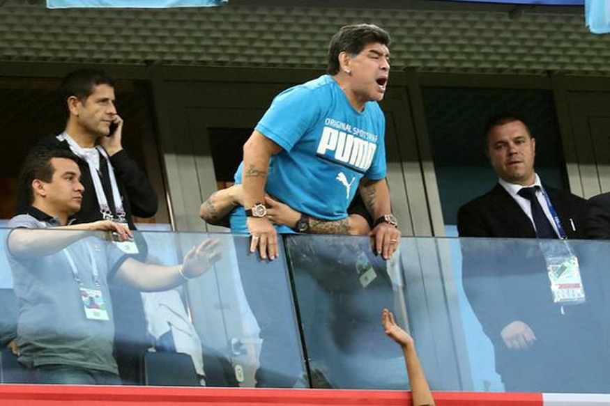 FIFA World Cup 2018: Maradona Needs Medical Help After Argentina Win Thriller