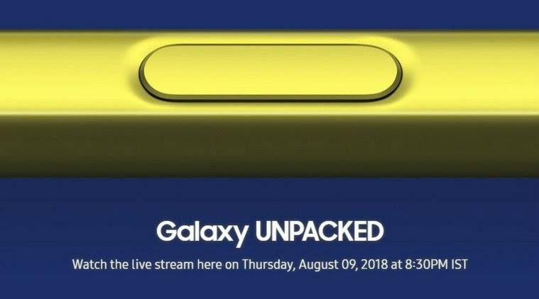Samsung Galaxy Note 9 event set for August 9: Here are details on live stream, event timings, etc