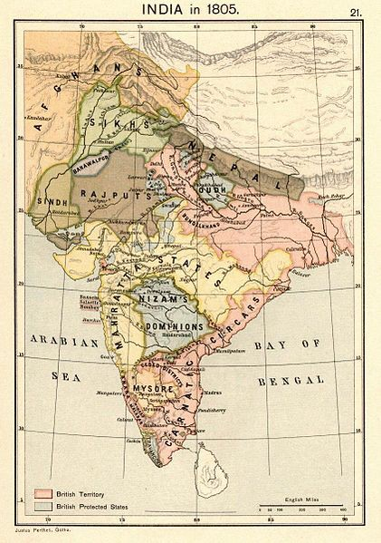 The myth of 200 years of British rule in India