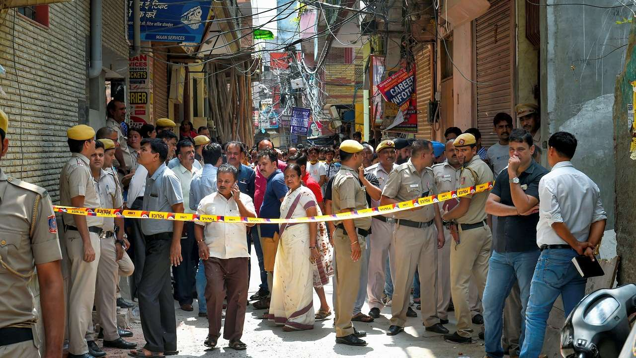 Delhi mass suicide: