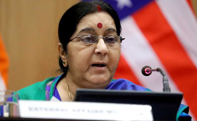 """Friends, Please See This"": Sushma Swaraj"