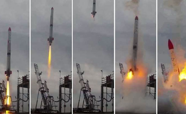 Watch: Japanese Rocket Crashes Seconds After Lift-Off, Bursts Into Flames