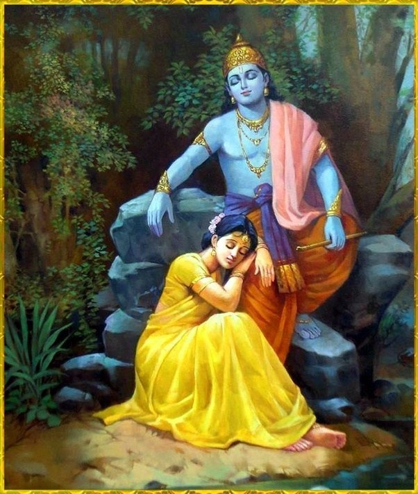 The mysterious Radha and her last meeting with Krishna !!!