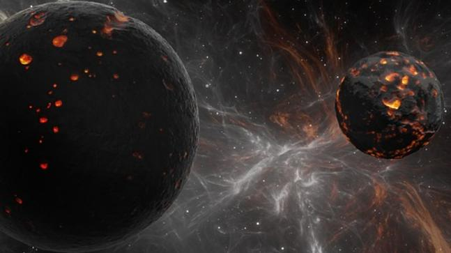 Caught on camera! Birth of a planet captured for the first time