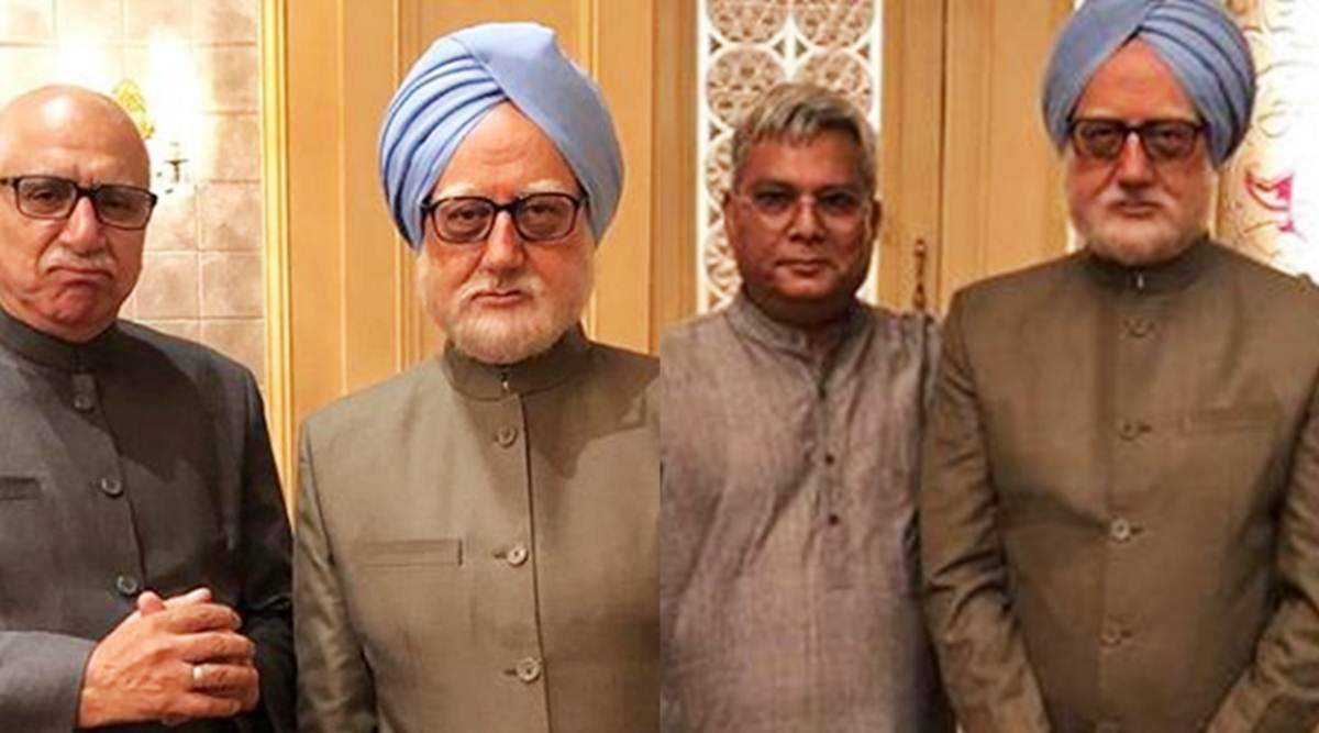 Meet The Accidental Prime Minister's LK Advani and Lalu Prasad Yadav