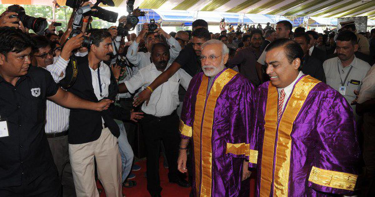 Reliance's Jio Institute gets government's Institution of Eminence status but it's yet to be set up