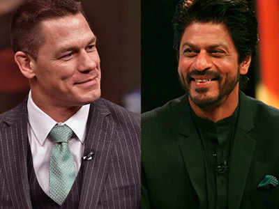 John Cena looks to Shah Rukh Khan once again for some words of wisdom