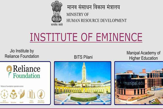 What are 'Institutes of Eminence' and how are they different from other universities?