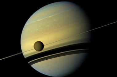 Listen: This Spooky Audio Represents The Plasma Waves Interaction Between Saturn And Its Moon