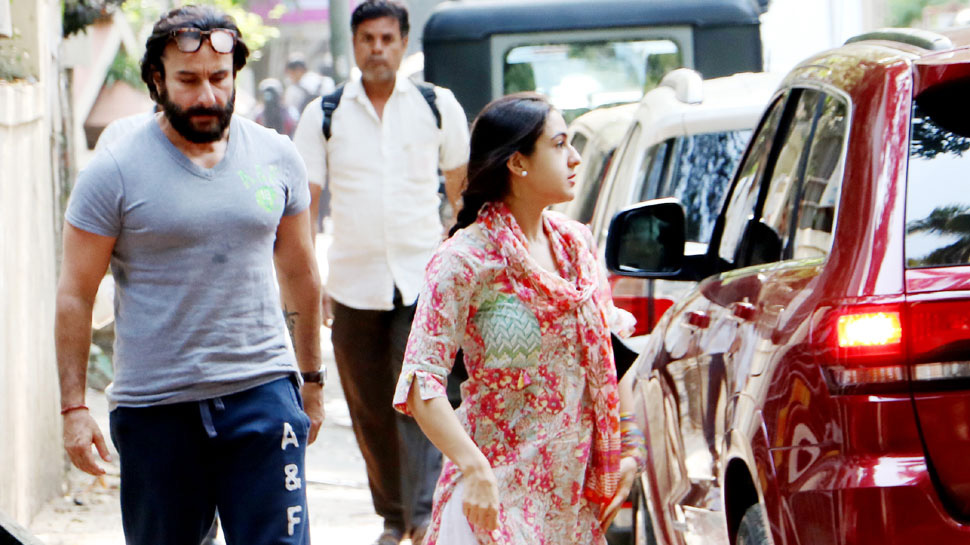Saif Ali Khan to team up with daughter Sara Ali Khan for a film? Here
