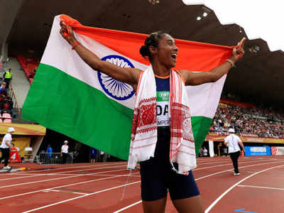 Under-20 World Athletics: Hima Das scripts history, wins gold in 400m