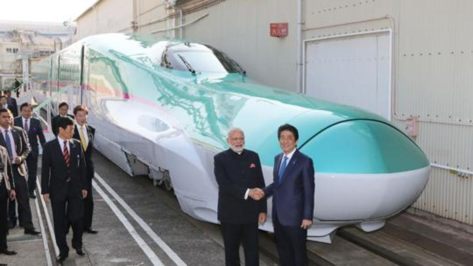 The bullet train project is not a strain on the railway resources