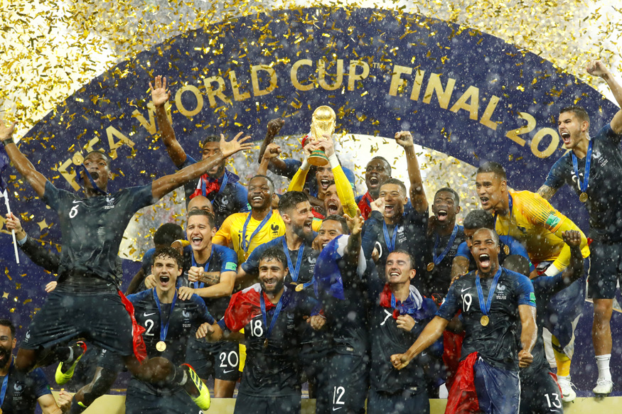 FIFA World Cup 2018: France Lift Second Cup After Beating Croatia in Thrilling Final