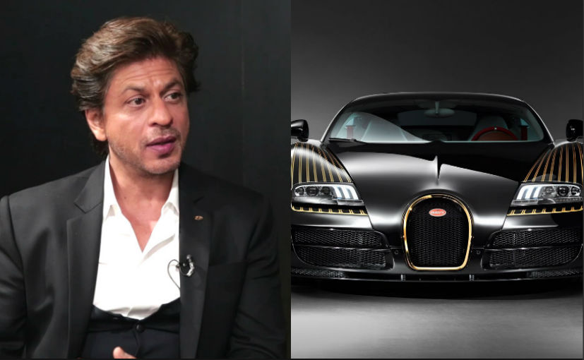 Does SRK Really Own The Bugatti Veyron? Here