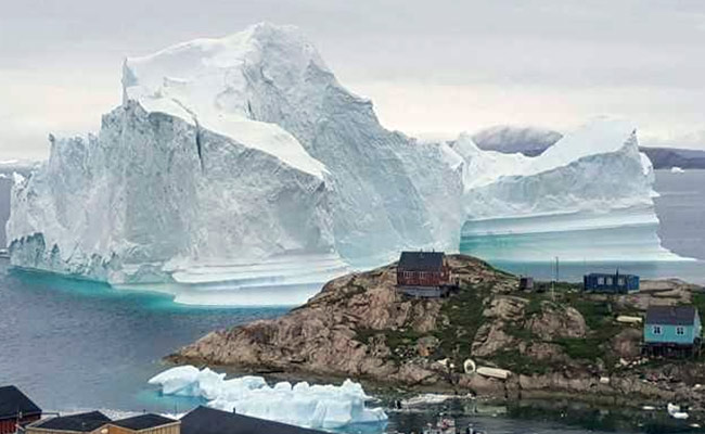 Iceberg The Size Of 2 Football Fields Is Threatening A Greenland Village