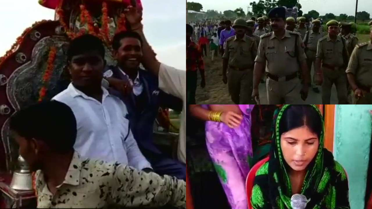 First time in 80 years, Dalit groom takes out his baarat in UP