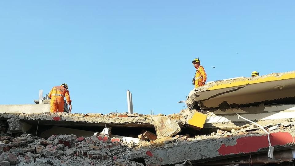 Greater Noida buildings collapse: Three dead, rescuers search for missing family