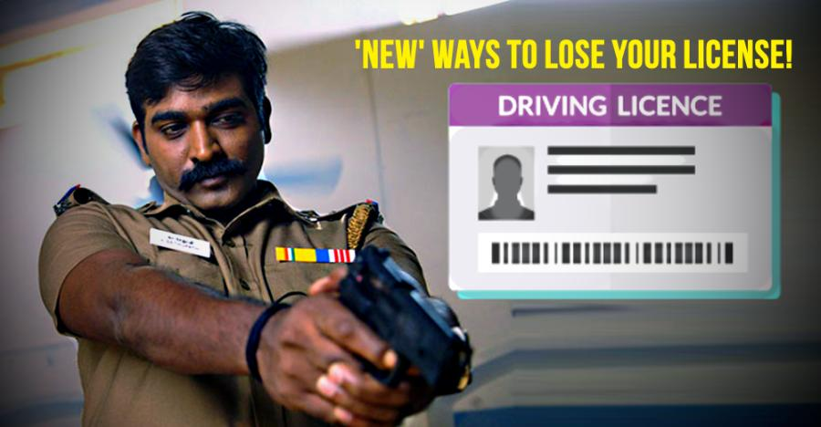 10 new ways to LOSE your driving licence