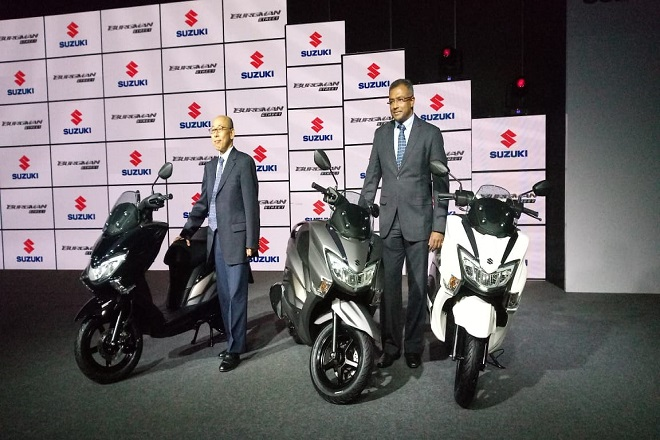 Suzuki Burgman Street launched at a price of Rs 68,000: India's only maxi scooter goes on sale