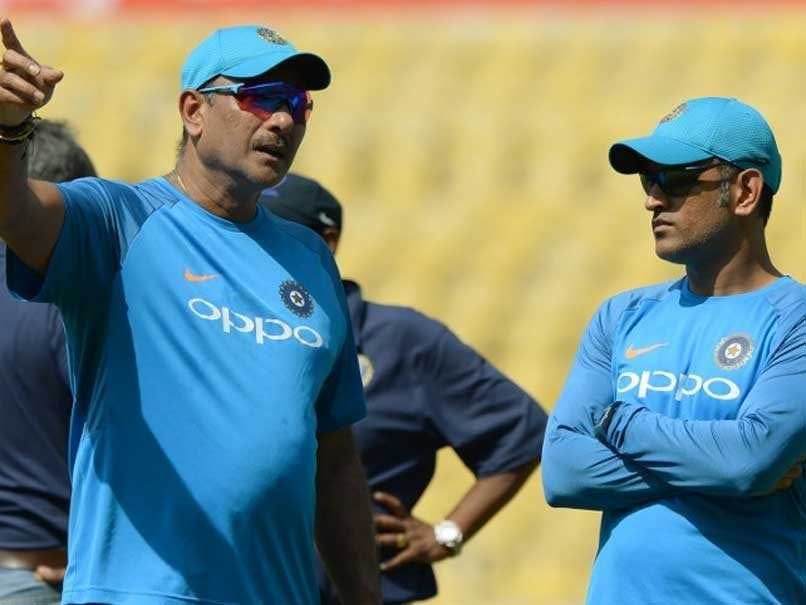Coach Ravi Shastri Reveals Why MS Dhoni Took The Ball From Umpire