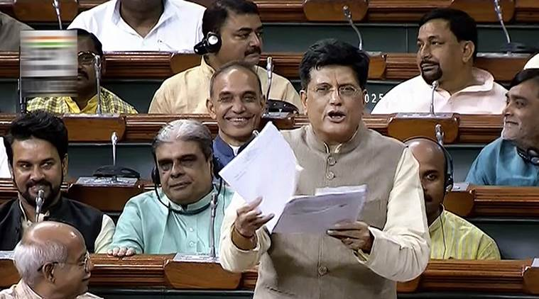 I fail to understand the 'foreign accent' of Shashi Tharoor: Piyush Goyal