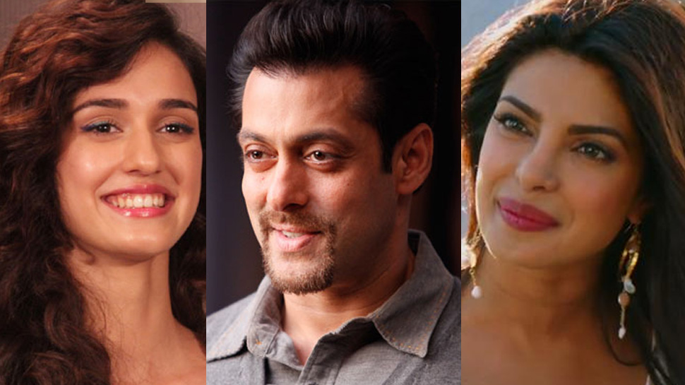 Priyanka Chopra, Salman Khan and Disha Patani